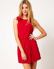 Jovonna Drape Dress