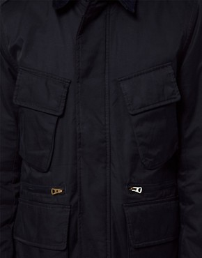 Image 3 ofPaul Smith Jeans Jacket with Cord Collar