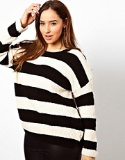 New Look Inspire Beatnik Stripe Sweater