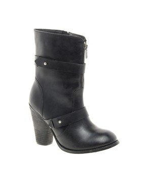 Image 1 ofFaith Rickan Heeled Calf Boots