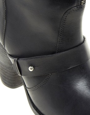Image 3 ofFaith Rickan Heeled Calf Boots