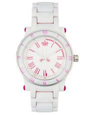 Juicy Couture HRH White Watch