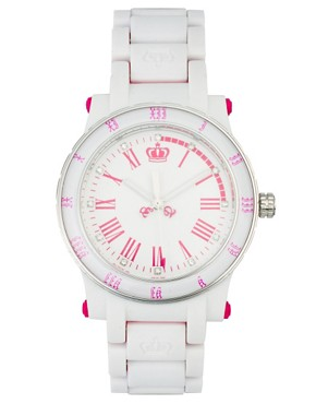 Image 1 ofJuicy Couture HRH White Watch
