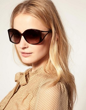 Image 3 ofKarl Lagerfeld Zip Arm Sunglasses