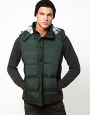 French Connection Hooded Gilet