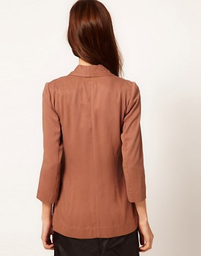 Image 2 of Warehouse Drape Pocket Jacket