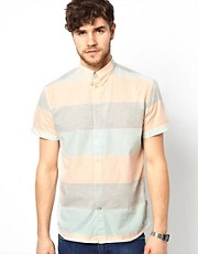 Paul Smith Jeans Shirt with Horizontal Stripe