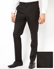 ASOS Slim Fit Suit Trousers in Pinstripe