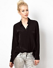 Kill City Shirt With Sheer Back