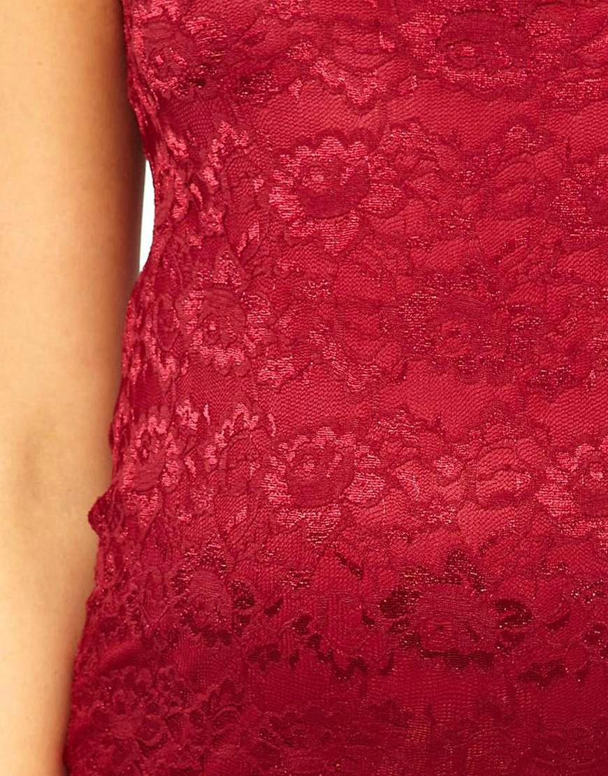 Image 3 ofASOS Maternity Exclusive Midi Lace Dress