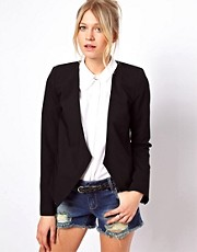 ASOS Blazer with Scoop Front