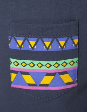 Image 3 ofASOS Sweatshirt With Aztec Print