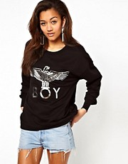 Sudadera con guila plateada de BOY London