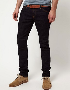 Image 1 ofNudie Long John Skinny Jeans