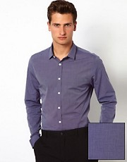 ASOS Smart Shirt With Slub Effect