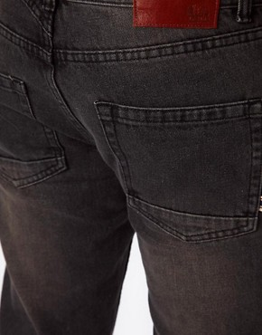 Image 4 ofBellfield Slim Fit Jeans With Tab Detail