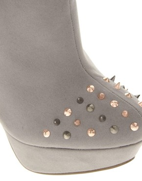 Image 2 ofASOS TRIUMPH Studded Platform Shoe Boots