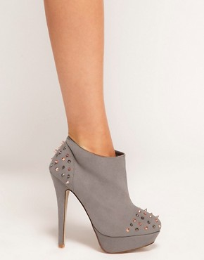 Image 3 ofASOS TRIUMPH Studded Platform Shoe Boots