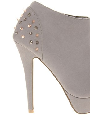 Image 4 ofASOS TRIUMPH Studded Platform Shoe Boots
