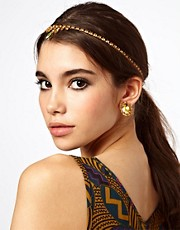 ASOS Mini Teardrop Headband &amp; Earring Pack