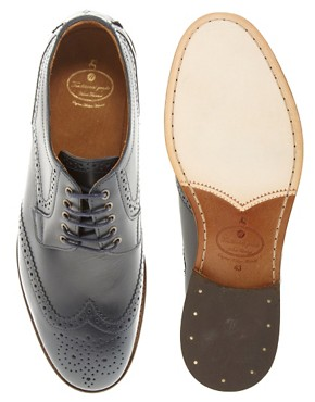 Image 3 ofH By Hudson Haskin Brogue Shoes