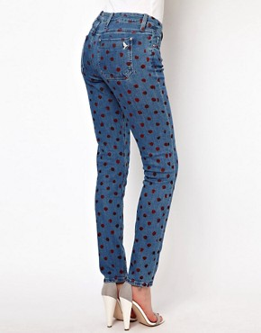 Image 2 ofMih Jeans Breathless Painted Spot Skinny Jeans