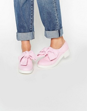 ASOS MINNIE Bow Detail Flat Shoes