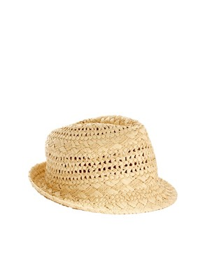 Image 2 ofSeeberger Straw Trilby Hat
