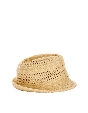 Image 4 ofSeeberger Straw Trilby Hat