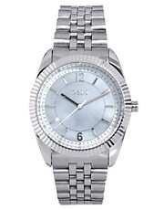 Oasis Silver Bracelet Watch With Silver Face
