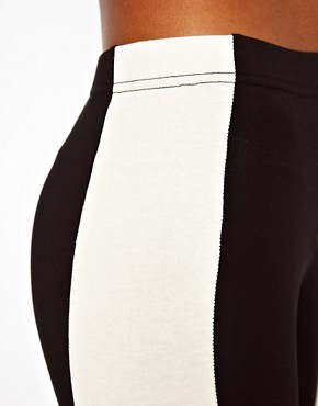 Image 3 ofASOS Leggings with Side Panel