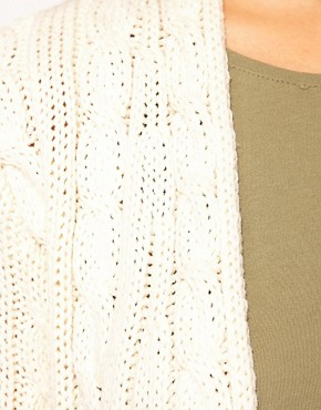 Image 3 of River Island Cable Cardigan