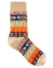 ASOS &ndash; Socken mit Aztekenmuster