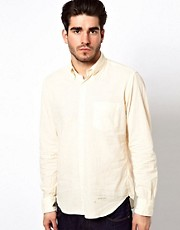 Gant Rugger Shirt with Selvedge Trim