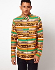 10 Deep Shirt Cuzco Print