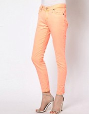 Paul and Joe Sister Jeans in Bright Coral