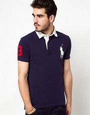 Polo Ralph Lauren Polo Shirt With Big Polo Player
