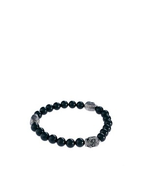 Image 1 ofSimon Carter Skull Beaded Bracelet