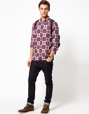 Image 4 ofSamsoe Samsoe Double Check Shirt