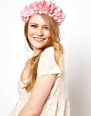Rock &#39;n&#39; Rose Annie Oversized Floral Crown Head Band