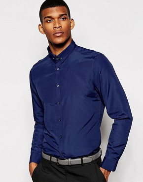 The Grateful Thread Shirt Plain Poplin With Collar Pin