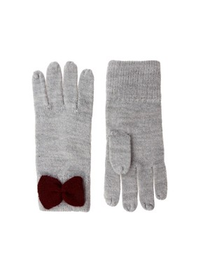 Image 1 ofASOS Bow Gloves