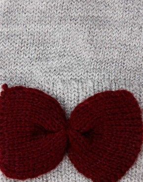 Image 2 of ASOS Bow Gloves