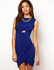 River Island Drape Necklace Dress
