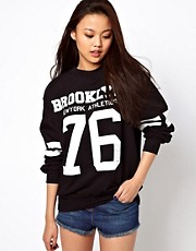 River Island Brooklyn 76 Sweat Top