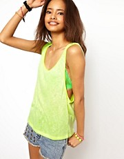 ASOS Tank in Cut and Sew Fabric
