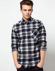 Suit Flannel Check Shirt