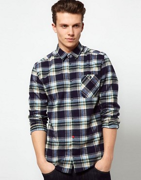 Image 1 ofSuit Flannel Check Shirt