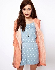 Vero Moda Lace Lined Parka