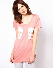 Zoe Karssen Double Skulls T-Shirts